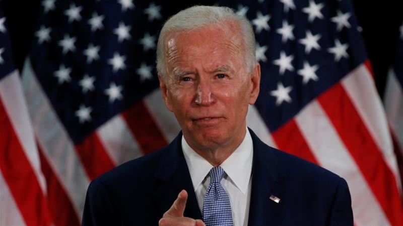 Biden clinches Democratic nomination for 2020 race against Trump ...