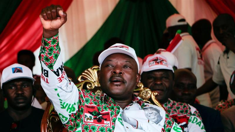 The Burundian president, Pierre Nkurunziza, died on June 8, 2020 at the age of 55 the Burundian presidency announced on June 9 [AFP]
