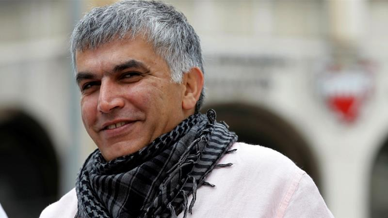 Bahraini human rights activist Nabeel Rajab has been released from prison following a court decision to convert his jail terms into an alternative sentence [File: Hamad Mohammed/Reuters]