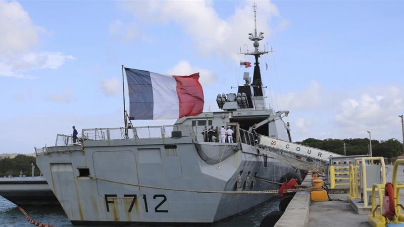 France suspends role in Nato Mediterranean mission after incident with Turkey