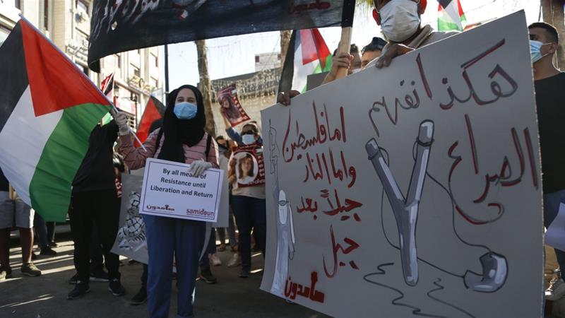 Palestinians have decried Israeli plans to annex parts of the West Bank and Jordan Valley as the end to a future Palestinian state [Majdi Mohammed/AP]