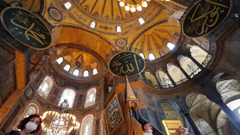 Turkey turning Hagia Sophia back into mosque divides social media