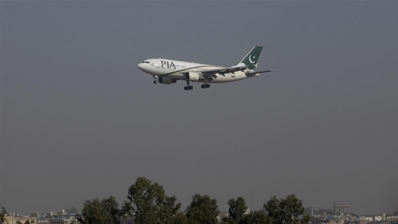 The US Department of Transportation revoked the authorisation to operate 12 flights from and to the US to repatriate Pakistani citizens stranded in the US due to the coronavirus pandemic [File: Faisal Mahmood/Reuters]