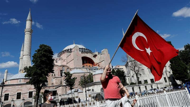 World reacts to Turkey reconverting Hagia Sophia into a mosque ...