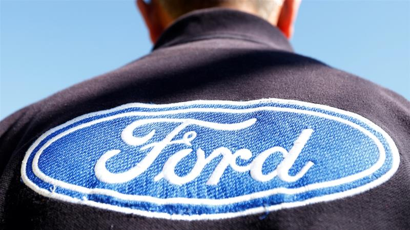 Mexico is a key part of an international supply chain crucial to US carmakers, including Ford, many of which operate factories across the border in Mexico due to lower labour costs [File: Carlos Jasso/Reuters]