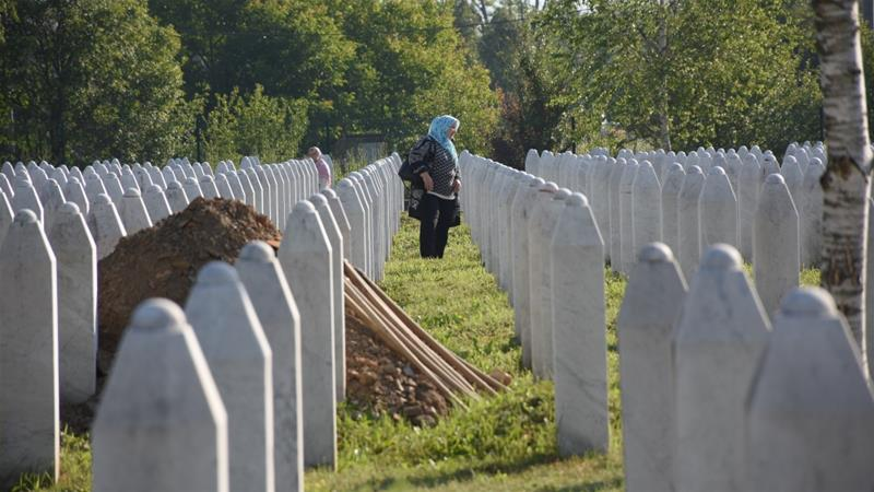 The Serb forces captured the town of Srebrenica on July 11, 1995, and killed more than 8,000 Muslim men and boys in a few days [Anadolu]
