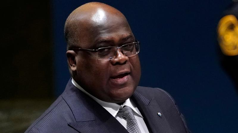 Tshisekedi had said in a speech he would oppose any reforms that undermined the independence of the judiciary [Carlo Allegri/Reuters]