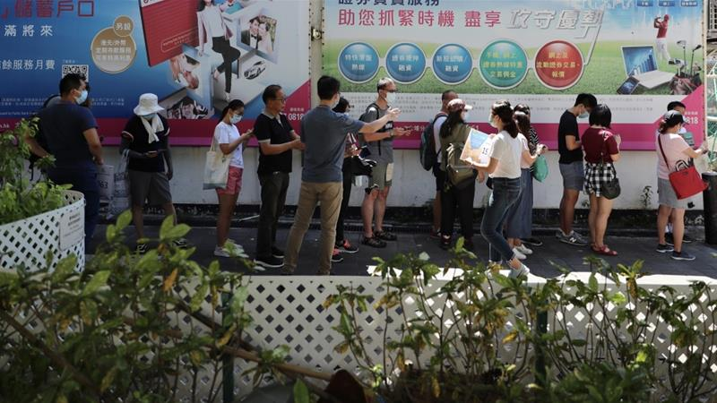 Hong Kong democrats hold primary despite security law warning