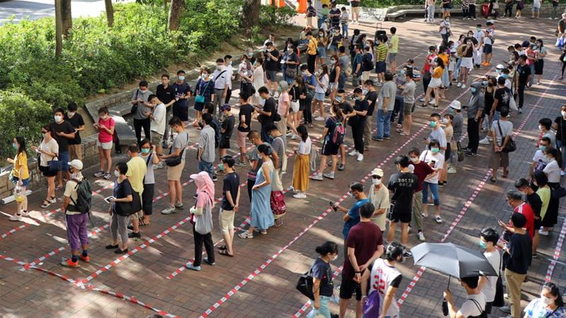 Hong Kongers Cast 'Protest' Vote Against New Security Laws