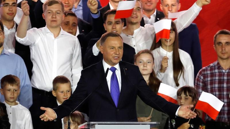Poland's Duda in nail biting fight to retain presidency
