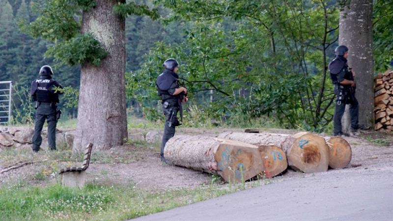 Police in Germany hunt for armed homeless man in Black Forest