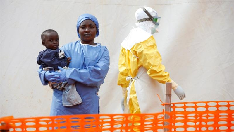 Cases in Equateur mark DRC's 11th major Ebola outbreak since the virus was discovered in 1976 [File:Baz Ratner/Reuters]