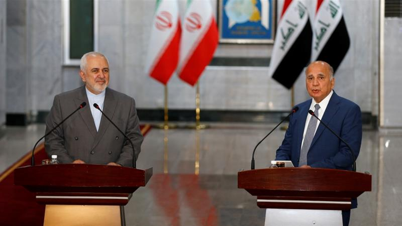 Iran FM visits Baghdad ahead of Iraq PM trip to Saudi Arabia