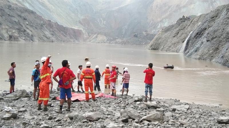At least 113 dead in Myanmar jade mine landslide