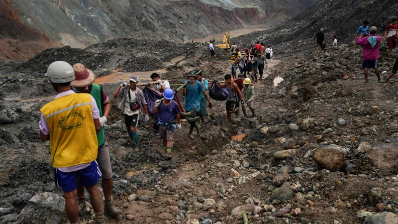 Landslide At Myanmar Jade Mine Kills At Least 162
