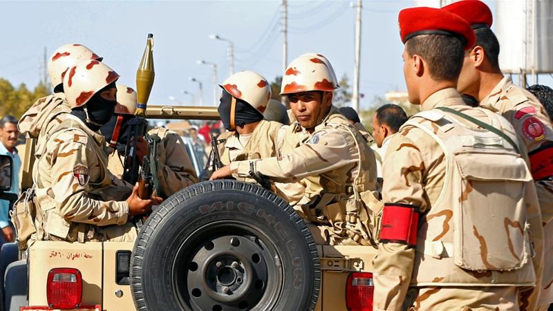 Egyptian troops could further destabilise Libya and put Turkey and Egypt in direct confrontation [File: Mohamed Abd el-Ghany/Reuters]