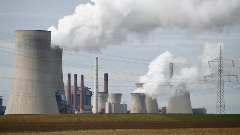 Most European Union countries, including Germany, have reported steep drops in the number of coal-fired power plants [File: Wolfgang Rattay/Reuters]