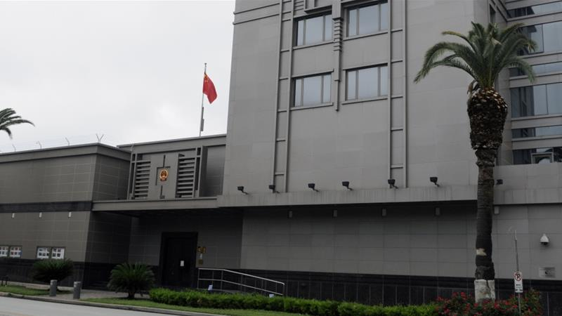 Accusations of spying behind closure of Chinese consulate in Houston