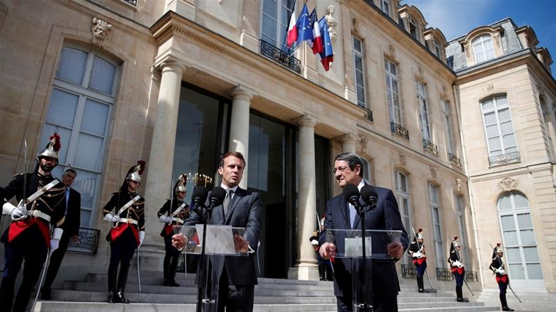 Macron Slams Turkey S Violation Of Greek Cypriot Sovereignty France News Al Jazeera