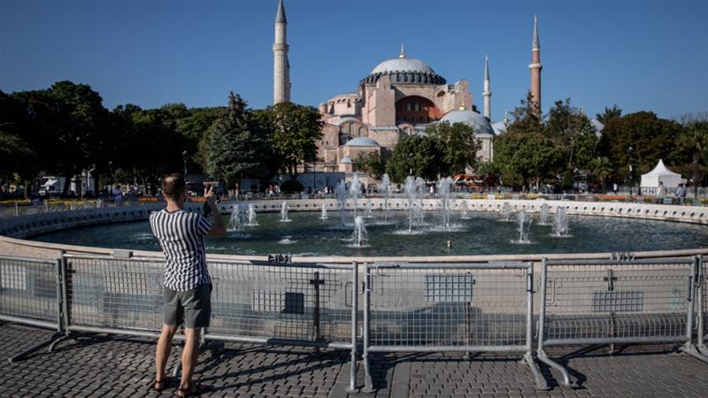 First Friday prayer at Hagia Sophia mosque after 86 years