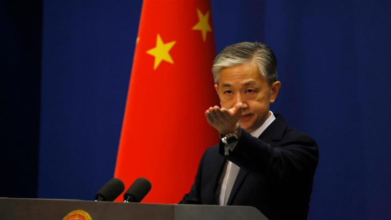Wang Wenbin says 'malicious slander' is behind US order to close Chinese consulate in Houston, Texas [Ng Han Guan/ AP Photo]