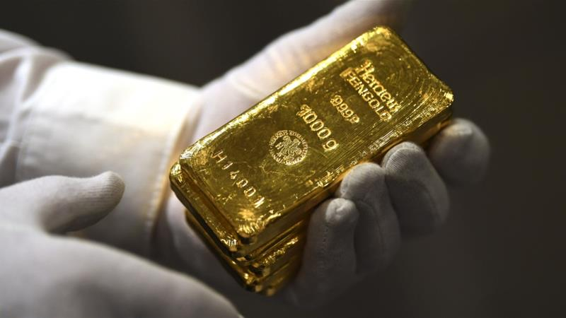 Gold Surges to Record High as Investors Seek Safe Haven