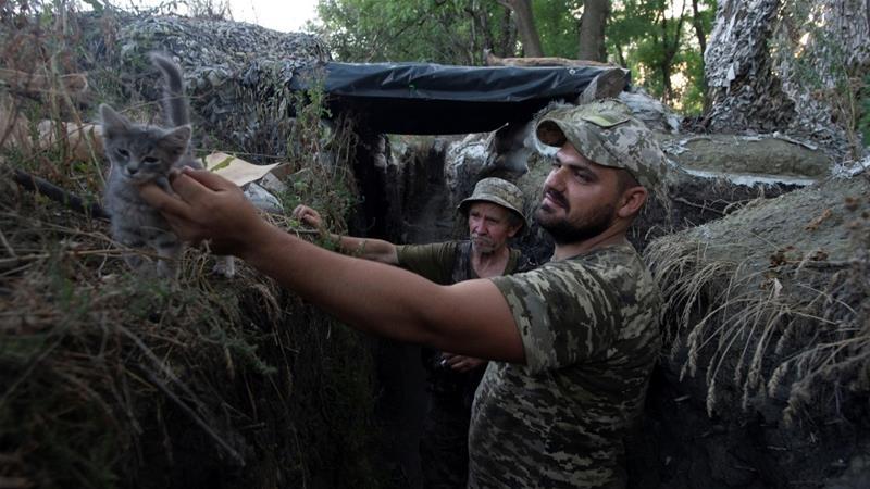 Putin, Zelenskiy express support for upcoming ceasefire in eastern Ukraine