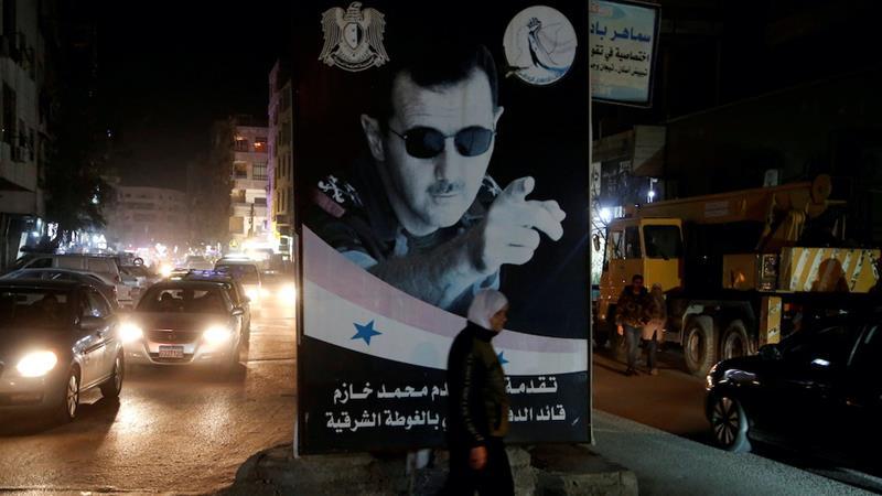 USA slaps sanctions on Syrian president's eldest son
