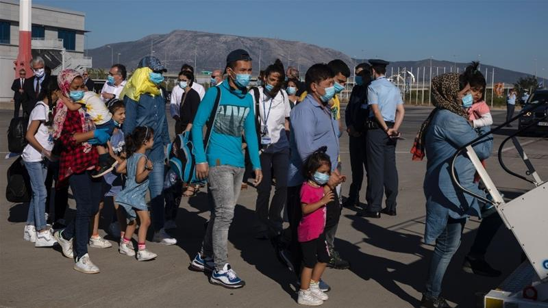 EU relocates vulnerable asylum seekers from Greece, Cyprus