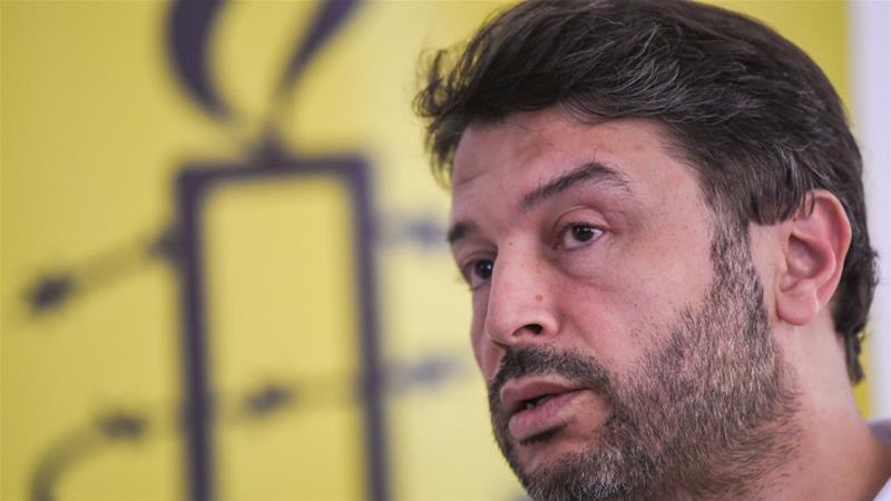 Taner Kilic, former chairman of Amnesty International in Turkey, was accused of membership in Fethullah Gulen's network [File: Ozan Kose/AFP]