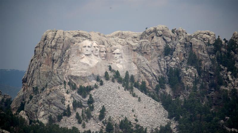Trump 'not welcome' at Mt Rushmore: Native American leader