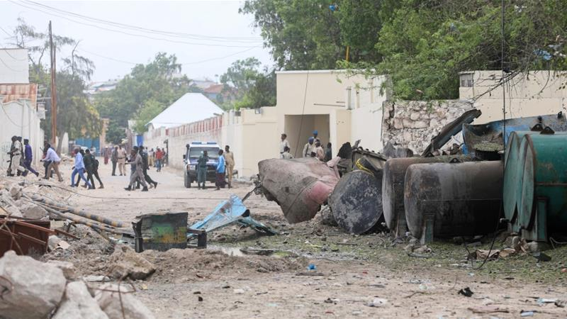 Seven injured in car bombing at Mogadishu port