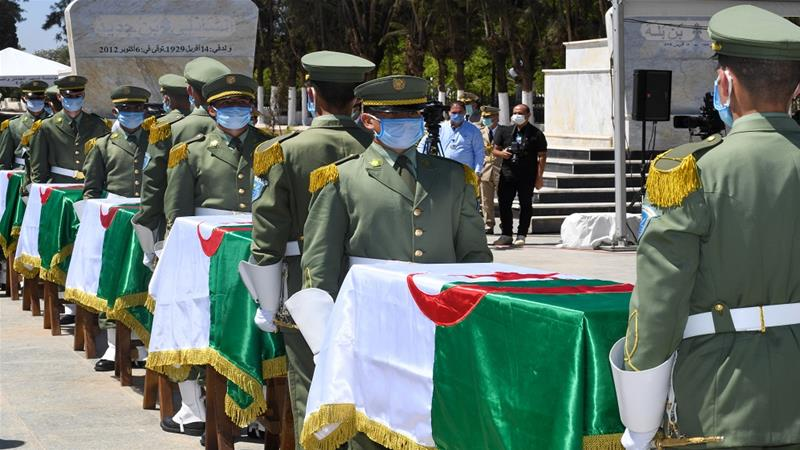 France hands over remains of Algeria's resistance fighters
