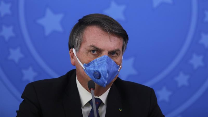 Brazilian President Jair Bolsonaro Tests Positive for COVID-19