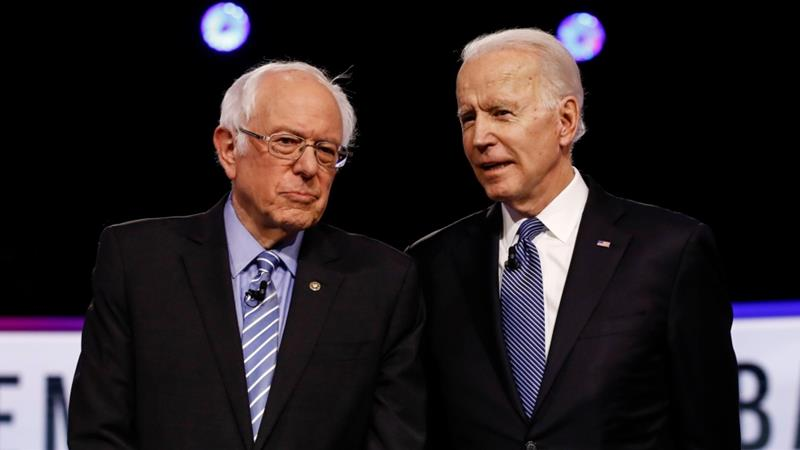 Biden hopes to maintain the support of progressives in the 2020 election against Donald Trump [File: Matt Rourke/The Associated Press]