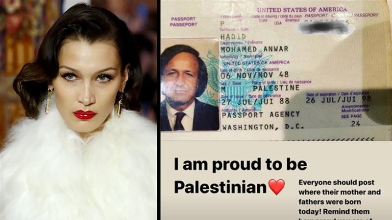 Facebook Apologizes For Deleting Bella Hadid Instagram Post Celebrating Her Palestinian Father