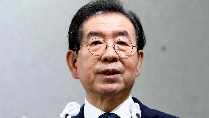 Seoul's Missing Mayor Park Found Dead After Massive Search