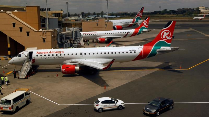 The Tanzanian Civil Aviation Authority said Kenya Airways flights were being banned 'on a reciprocal basis' [File: Njeri Mwangi/Reuters]