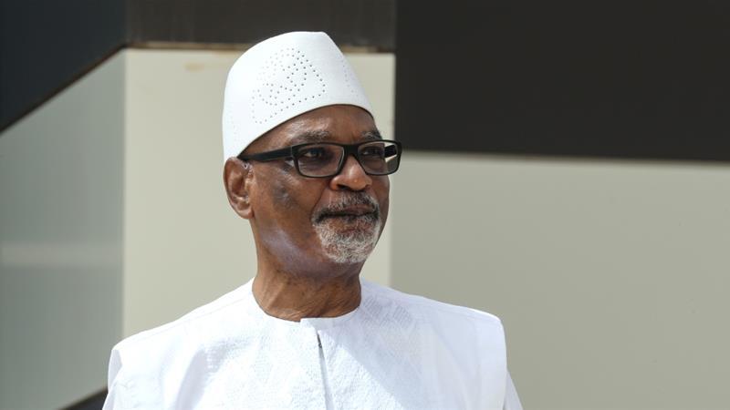 In power since 2013, Malian President Ibrahim Boubacar Keita won re-election in 2018 [File: Ludovic Marin/Reuters]