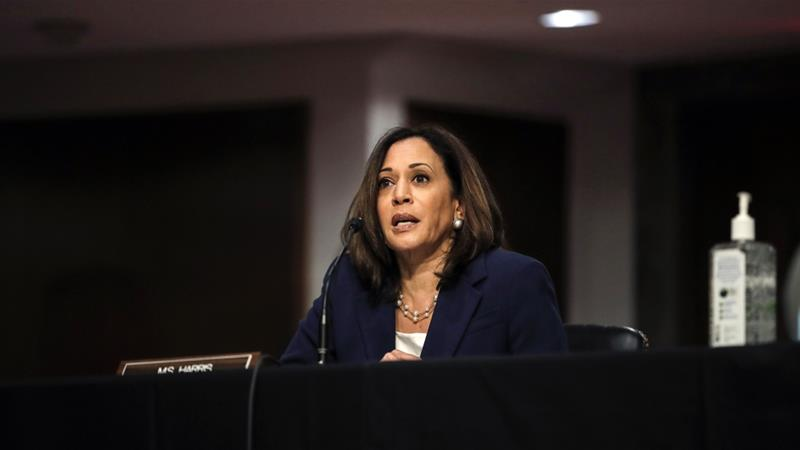 Biden picks Harris as vice presidential running-mate