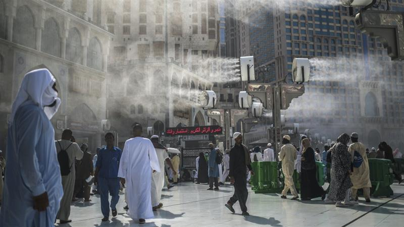 Large areas in the Middle East are expected to become uninhabitable due to frequent heatwaves in the next few decades. File photo, September 2015, Mecca, Saudi Arabia [Mosa'ab Elshamy/AP Photo]