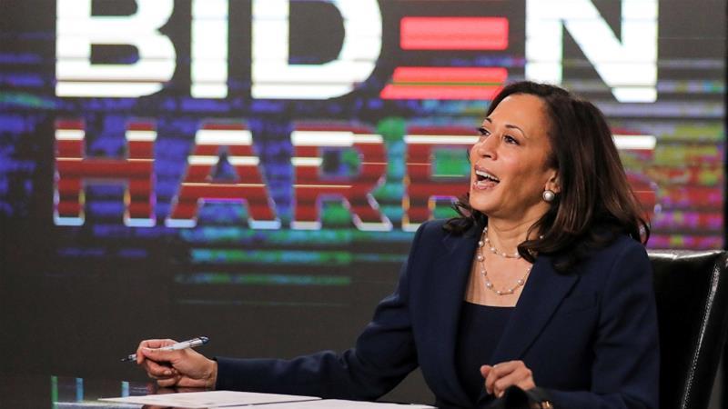 Kamala Harris lauds Biden's 'audacity to choose a Black woman'   News   Al Jazeera