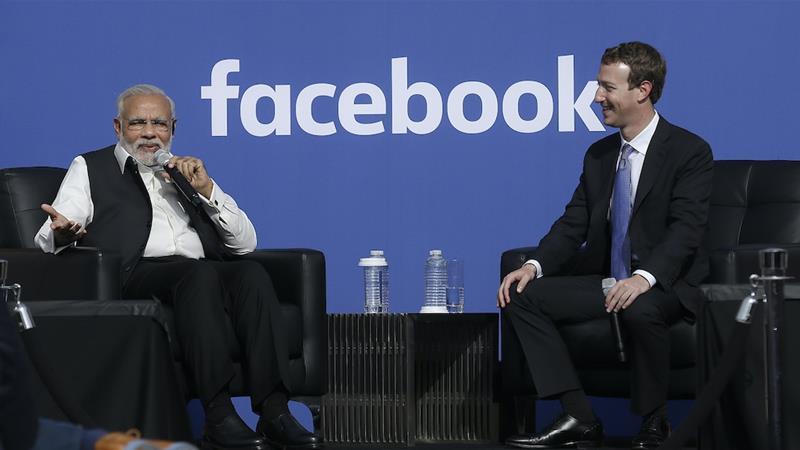 Sebuah laporan Wall Street Journal mengatakan Facebook mengabaikan kebijakan ujaran kebencian dan mengizinkan posting anti-Muslim di platformnya untuk menghindari merusak hubungan perusahaan dengan pihak yang mengatur India [File: Jeff Chiu / AP]