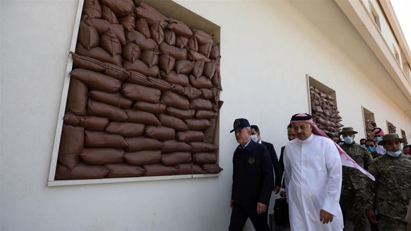 Libya unity govt signs military accord with Qatar, Turkey