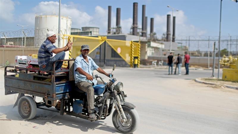Gaza's power plant shuts down amid Israel-Hamas standoff