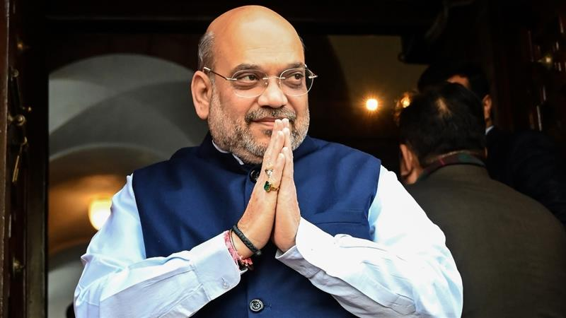 Amit Shah, Indian interior minister, hospitalised with COVID-19 ...