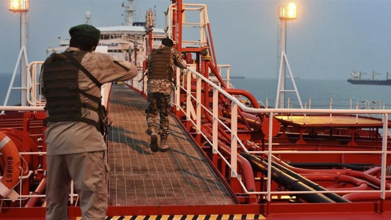 The UAE vessel was seized after entering Iranian waters, the foreign ministry says [File: Morteza Akhoondi/Mehr news agency via AP]