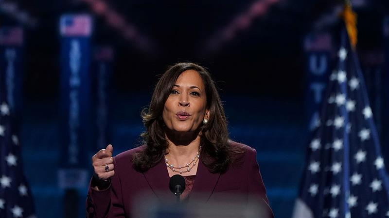 Kamala Harris talks about obstacles to voting