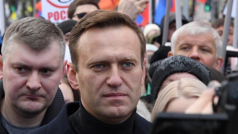 No serious threat to Kremlin critic Navalny's life, symptoms improving: spokeswoman