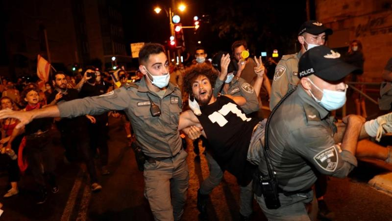 Anti-Netanyahu protests continue in Israel